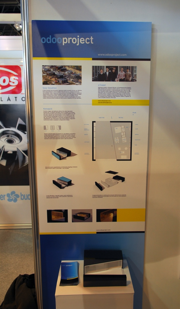 We took part in CONSTRUMA 2011 Exhibition